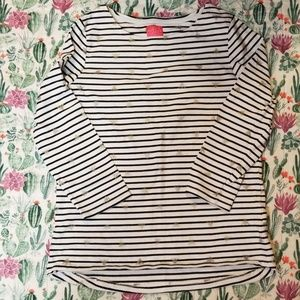 Joules harbour top with bees US 12/UK14